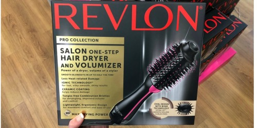 Revlon One-Step Hair Dryer & Volumizer Only $38 Shipped (Regularly $60)