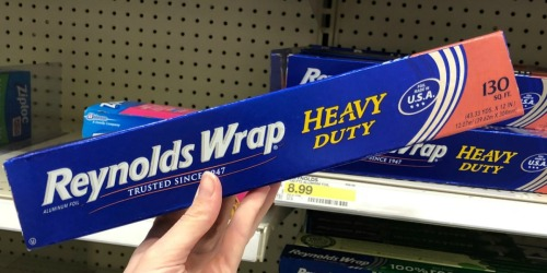 Amazon: Reynolds Wrap Heavy Duty Foil 130 Sq. Ft. Roll Only $7.94 Shipped + More