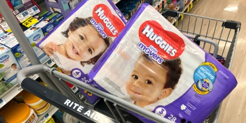 Huggies Diapers & Wipes as Low as $1.80 Each After Rite Aid Rewards