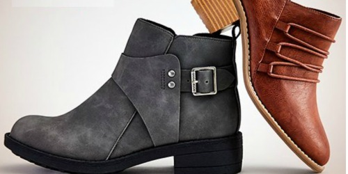 Rocket Dog Women's Boots & Booties Only $22.79 (Regularly $70) at Zulily
