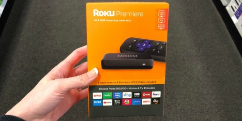 Roku Premiere 4K Streaming Media Player Only $24 on Amazon (Regularly $40)
