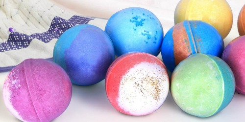 RoseVale Bath Bombs Gift Set Only $14.99 at Woot (Includes 12 Bath Bombs & Tea Light Candles)