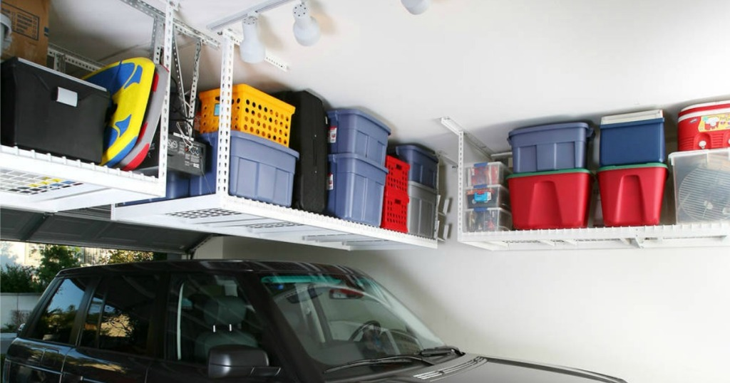 Costco Saferacks Overhead Garage Storage Combo Kit Only 249 99