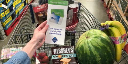 Sam's Club Membership, $25 eGift Card & Savings on Produce ONLY $35 (New Members Only)