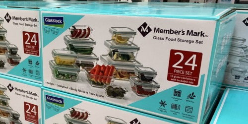 Member's Mark 24-Piece Glassware Set Only $19.98 Shipped at Sam's Club
