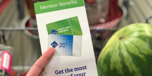 Sam's Club Membership + FREE Gift Cards, Fresh Produce & More Only $35 ($80 Value)
