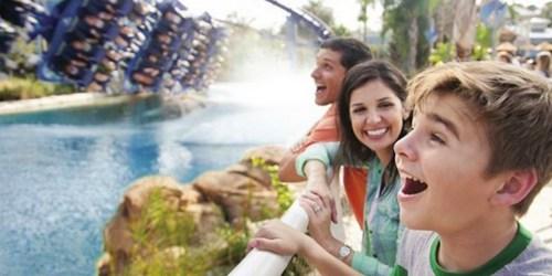 Free Sea World Orlando Kids Ticket ($99 Value) w/ Adult Ticket Purchase