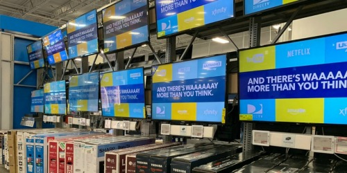 Up to 40% Off Smart TVs, Samsung Notebook & More at Best Buy + FREE Shipping