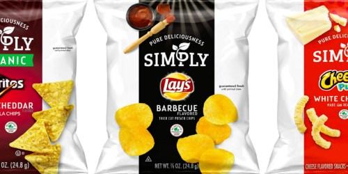 Amazon: Organic Frito-Lay Chips 36-Count Variety Pack Only $10.78 Shipped (Doritos, Lay's & Cheetos)