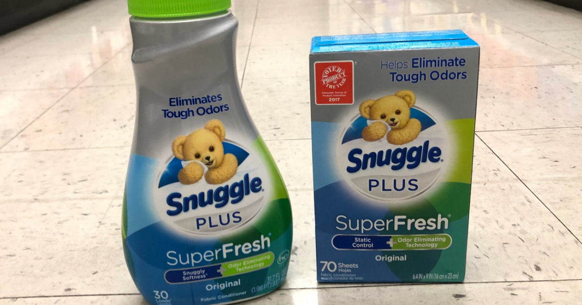 snuggle washing detergent