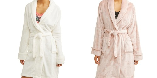 Women's Velvet Plush Robes Only $12 at Walmart.com