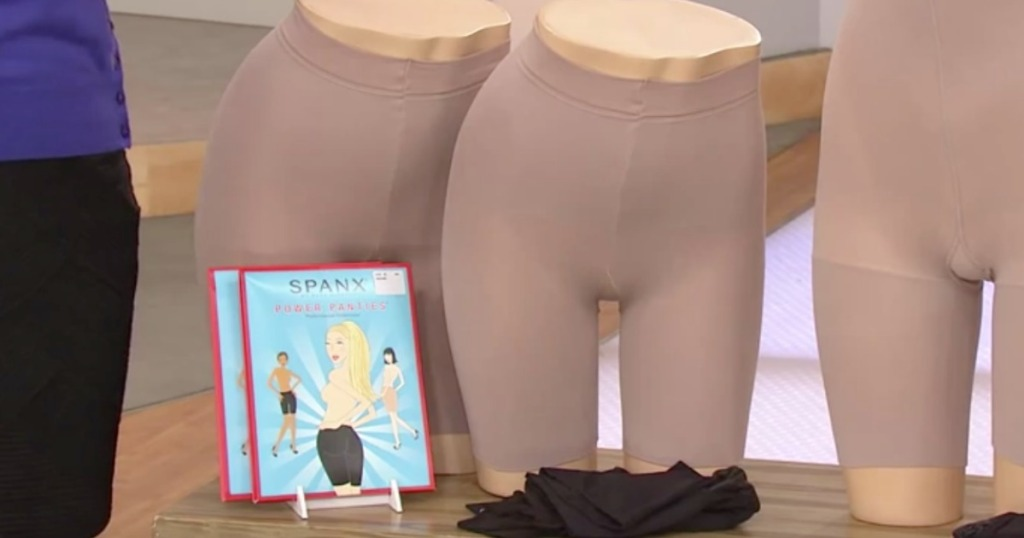 Spanx Power Panties on a mannequin