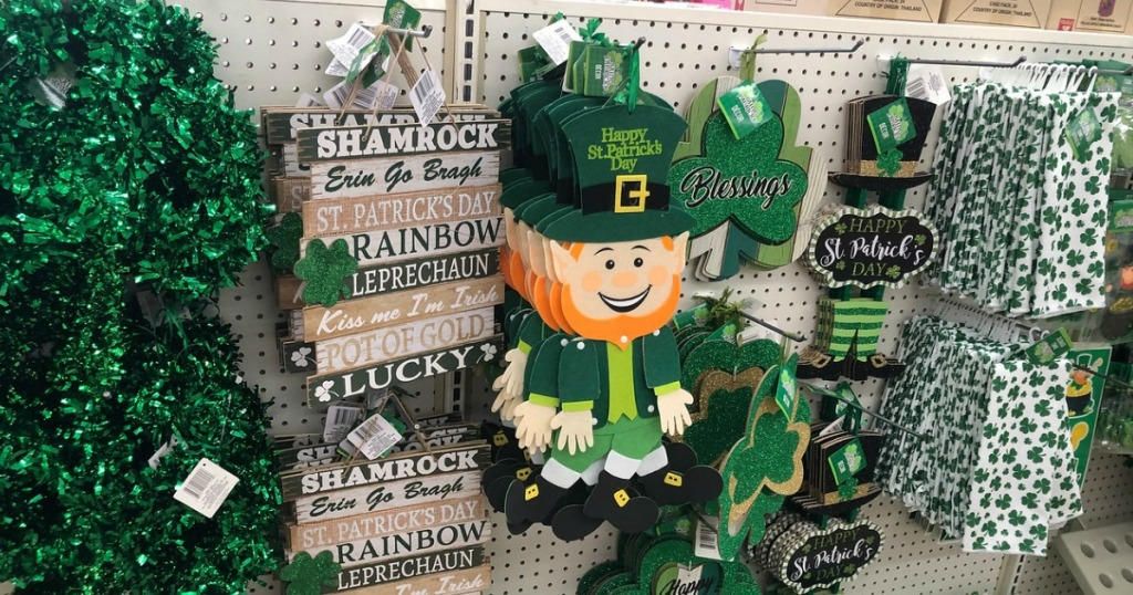 St Patrick S Day Decor Only 1 Each At Dollar Tree Hip2save