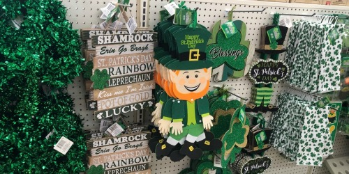 St. Patrick's Day Decor Only $1 Each at Dollar Tree