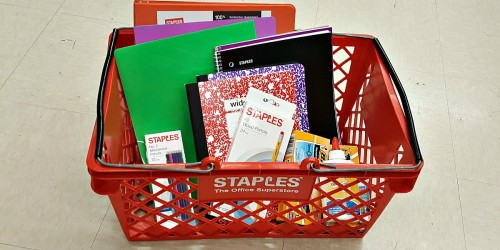 Possible $8 Gift Reward for Staples Rewards Members (Check Inbox)
