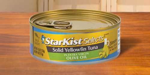 Starkist Selects Solid Yellowfin Tuna 12-Packs from $17.64 on Amazon| Just $1.47 Per Can
