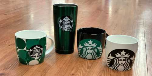 Starbucks Mugs Possibly Only $2.50 (Regularly $10+) at Walmart