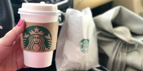 Free Starbucks Drink w/ Food or Drink Purchase 1/25-1/27 Only (Check Inbox)