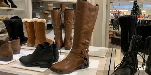 Women's Riding Boots Only $19.99 (Regularly $50) at Macy's & More