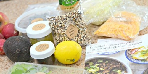$60 Off Sun Basket ORGANIC Meal Kits + Free Delivery