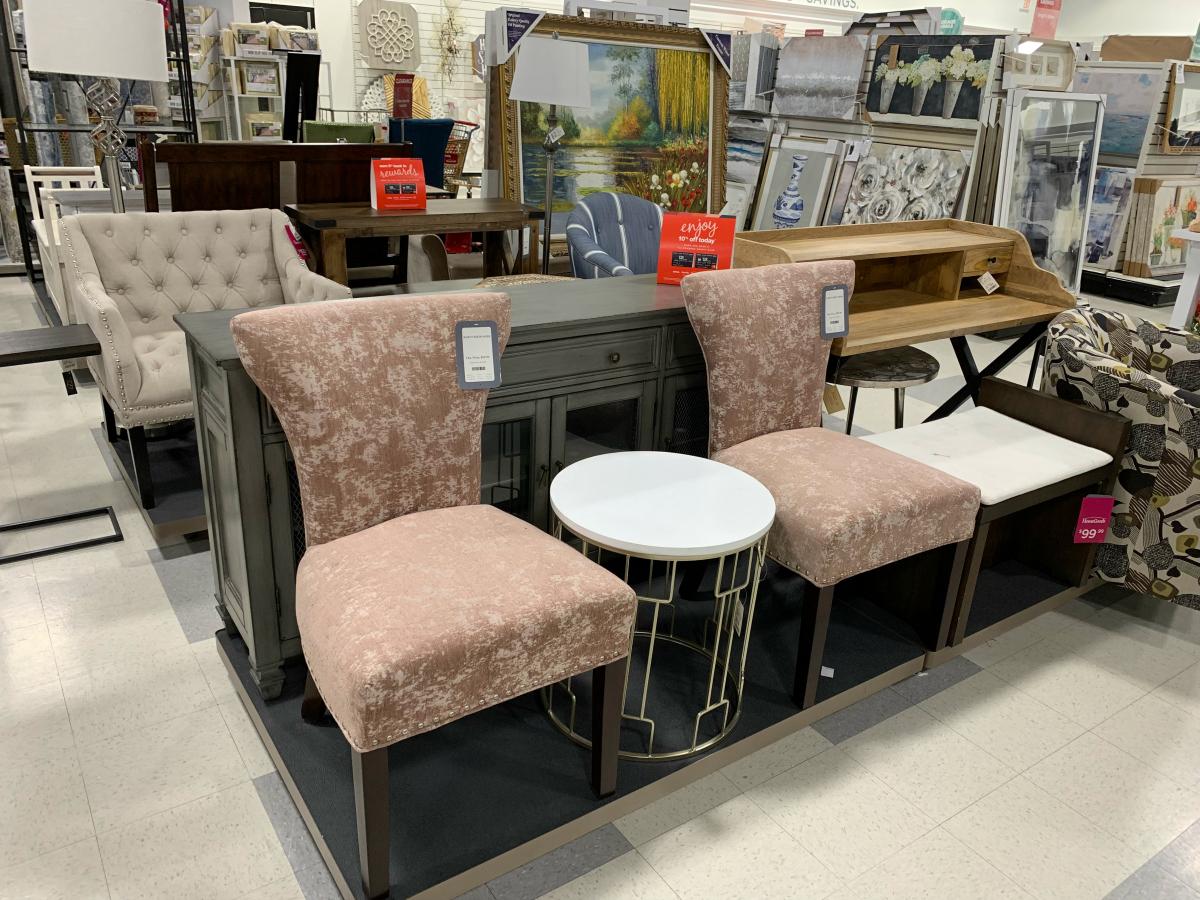 TJ Maxx furniture