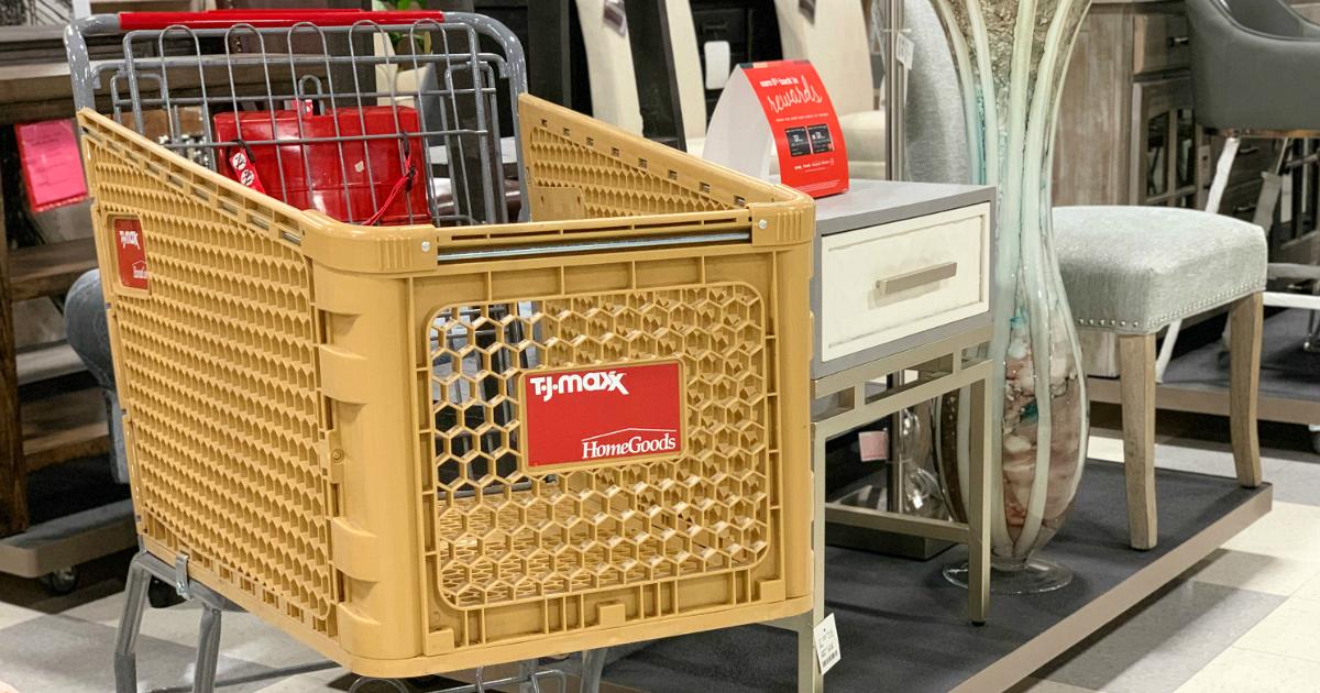 TJ Maxx shopping cart
