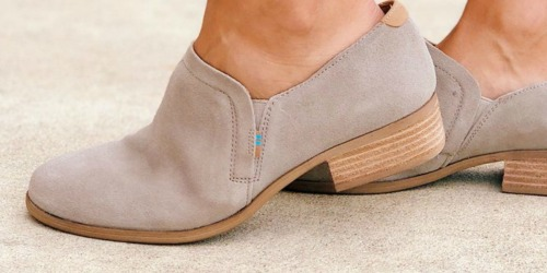 TOMS Ankle Booties Only $29.70 Shipped (Regularly $99) + More