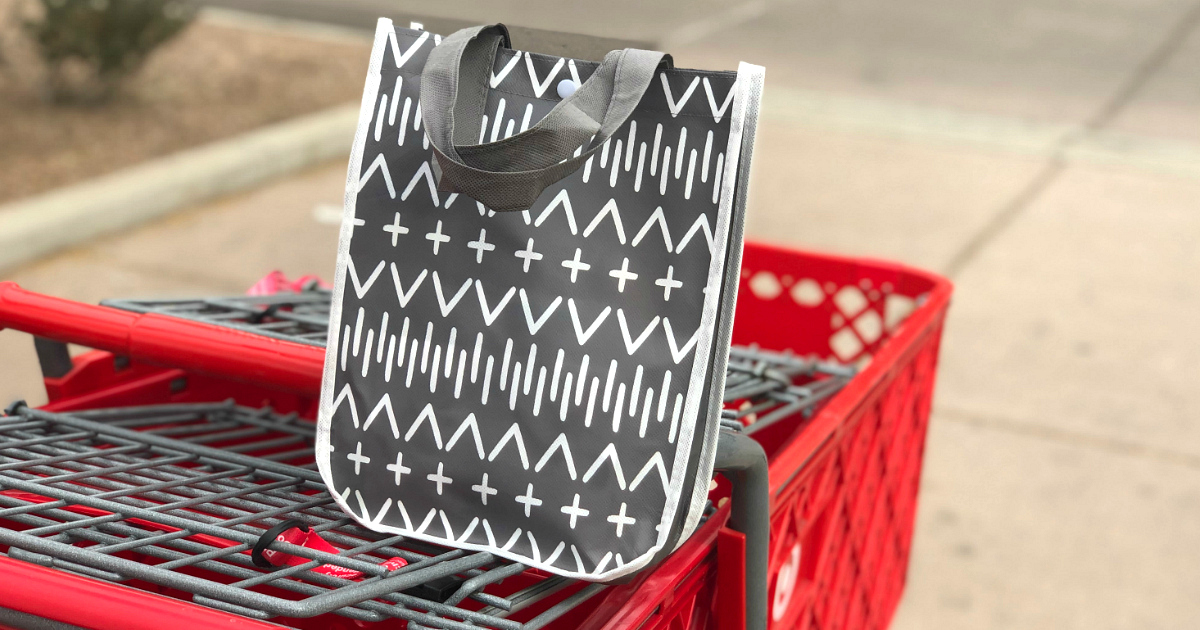 A Target Baby Registry gift bag like this one is among the freebies expecting mothers receive