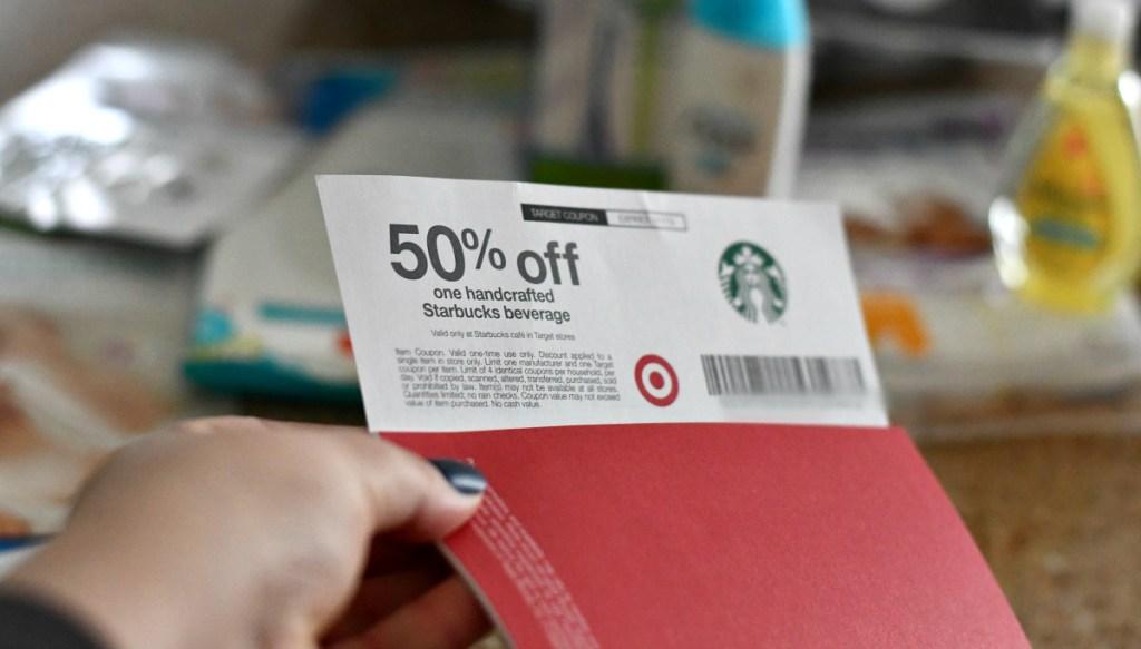 Target baby registry - 50 off starbucks coupon