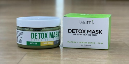 50% Off Teami Detox Mask & First Aid Beauty Faves To Go Kit at ULTA Beauty