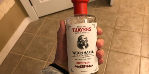 Thayers Rose Petal Witch Hazel w/ Aloe Vera Toner Only $4.99 | Awesome Reviews