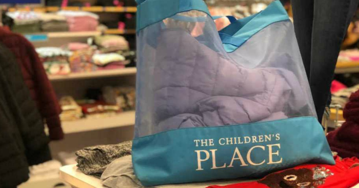 The Children's Place shopping bag