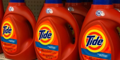 Tide Original HE Laundry Detergent 115 oz Bottle Only $8.86 at Lowe's (Regularly $15) + More