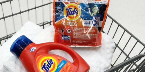 TWO High Value $3/1 Tide Printable Coupons (Print Now!)