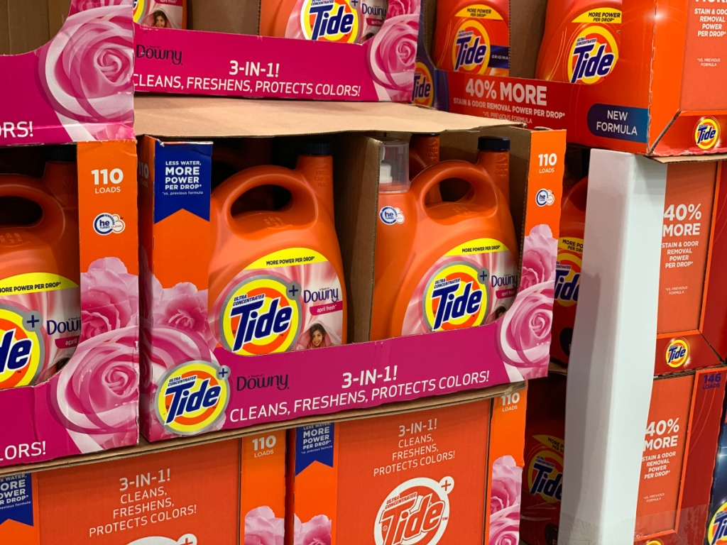 Tide with Downy Costco
