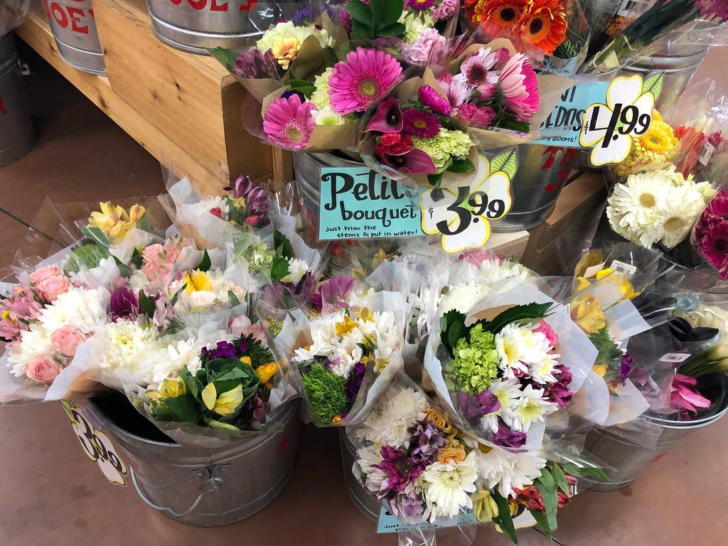 Trader Joe's Flower Bouquets