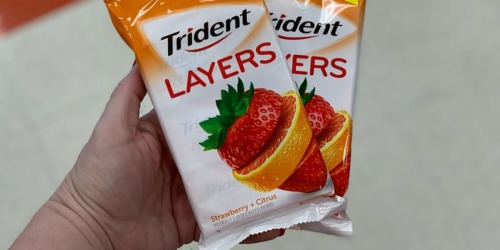 Trident Layers Sugar Free Gum 12-Pack Only $5.79 (Just 48¢ Per Pack) – Ships w/ $25 Amazon Order