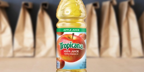 Tropicana Apple Juice Bottles 24-Count Only $9 Shipped (Just 38¢ Each) + More
