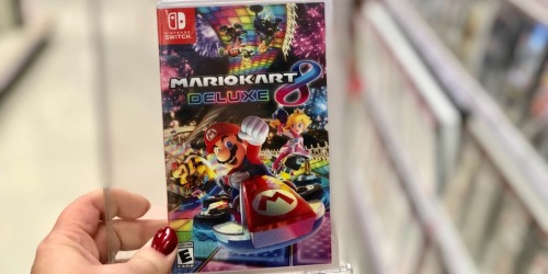 Mario Kart Deluxe 8 Nintendo Switch Game Only $44.99 on BestBuy.com (Regularly $60) | Possible Pickup Today!