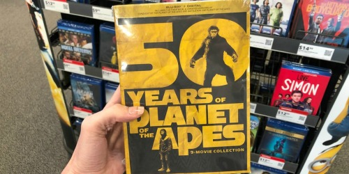 Planet of the Apes 50th Anniversary 9-Movie Blu-ray + Digital Collection Just $39.99 Shipped (Regularly $77)