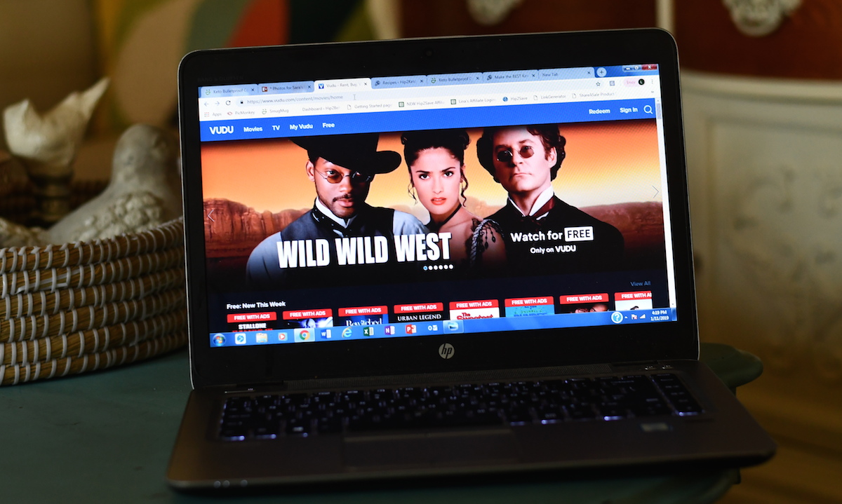 watch tv, movies, and sports for cheap or free – vudu computer screen of the Wild Wild West movie