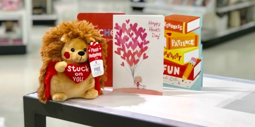 FREE Plush w/ Purchase of 3 Greeting Cards at Target