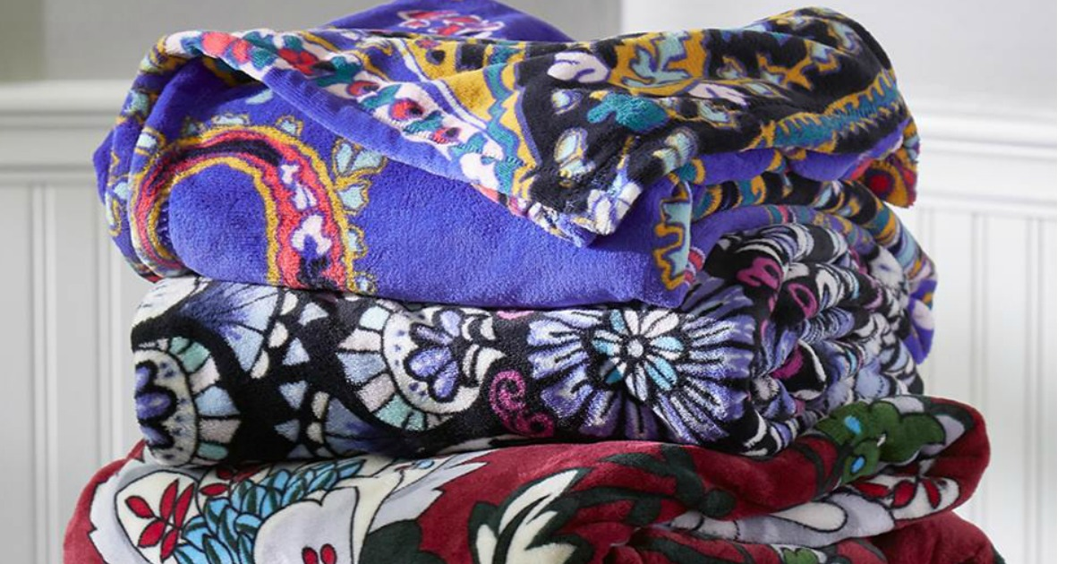 50% Off Vera Bradley Blankets + FREE Shipping - Hip2Save 27c15dec6b889