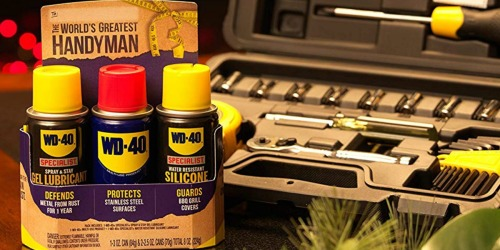 WD-40 Gift Pack Possibly Only $2.49 at Lowe's (Regularly $10)