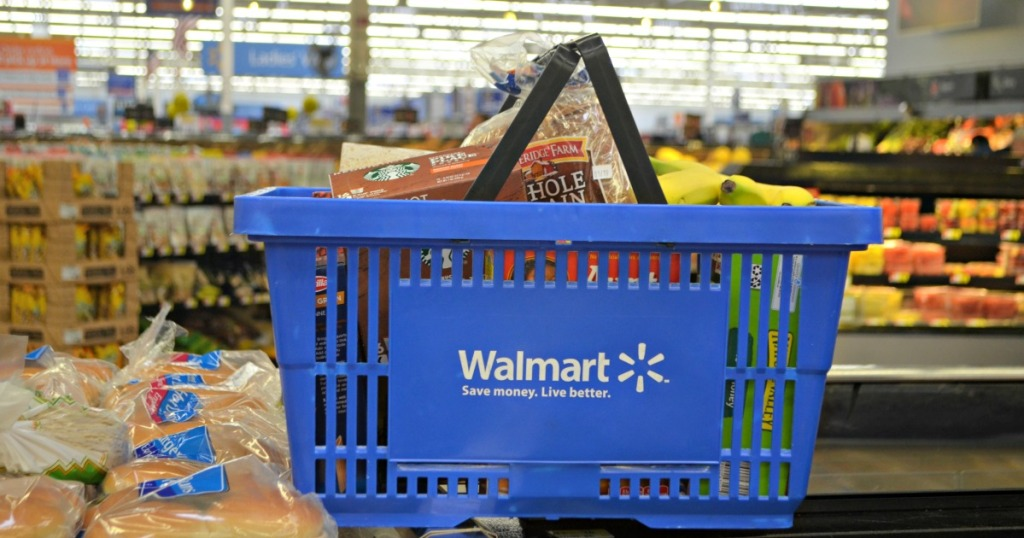 Walmart Grocery Delivery - Basket filled with groceries