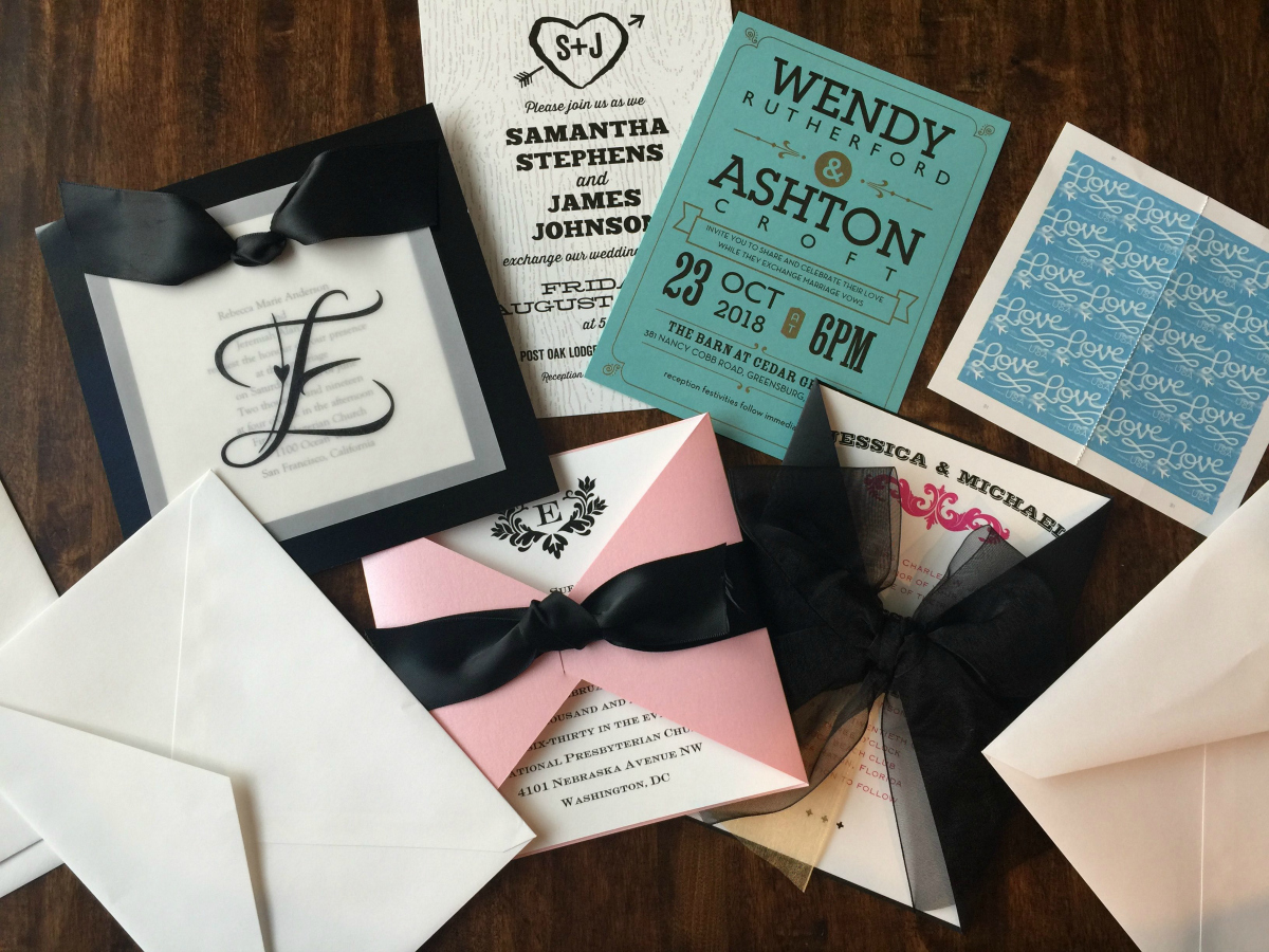 Wedding Invitations from Target