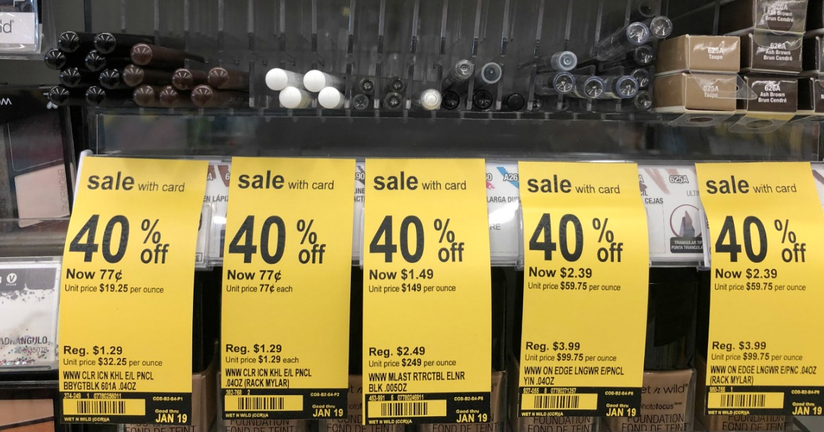 graphic about Wet and Wild Printable Coupons called Previously mentioned $2 Well worth of Fresh new Moist n Wild Discount coupons \u003d Cost-free Eyeshadow at
