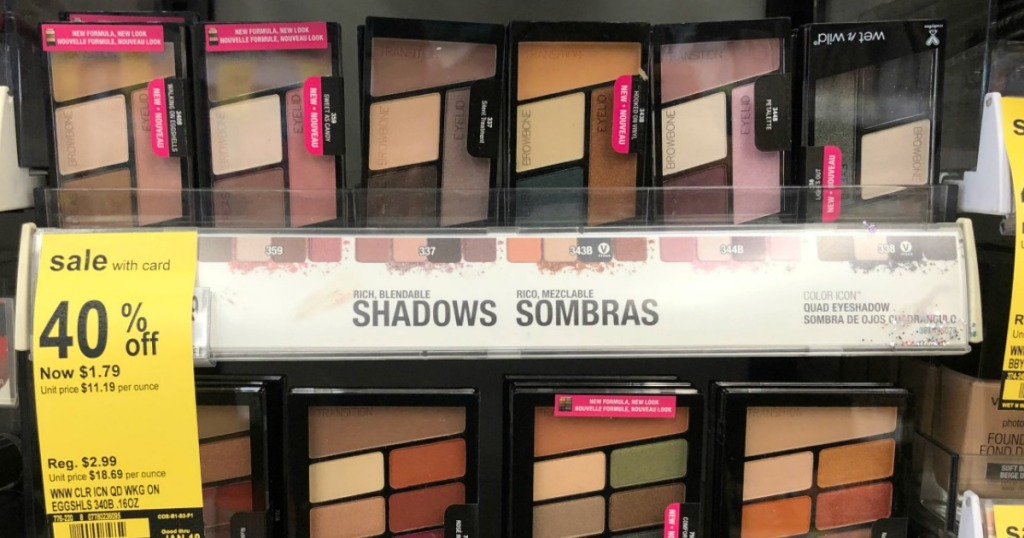 Over 2 Worth Of New Wet N Wild Coupons Free Eyeshadow At