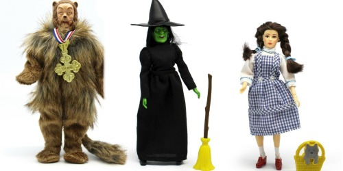 Buy 2, Get 1 Free Mego Action Figures on Target.com (Wizard of Oz, Star Trek, & More)