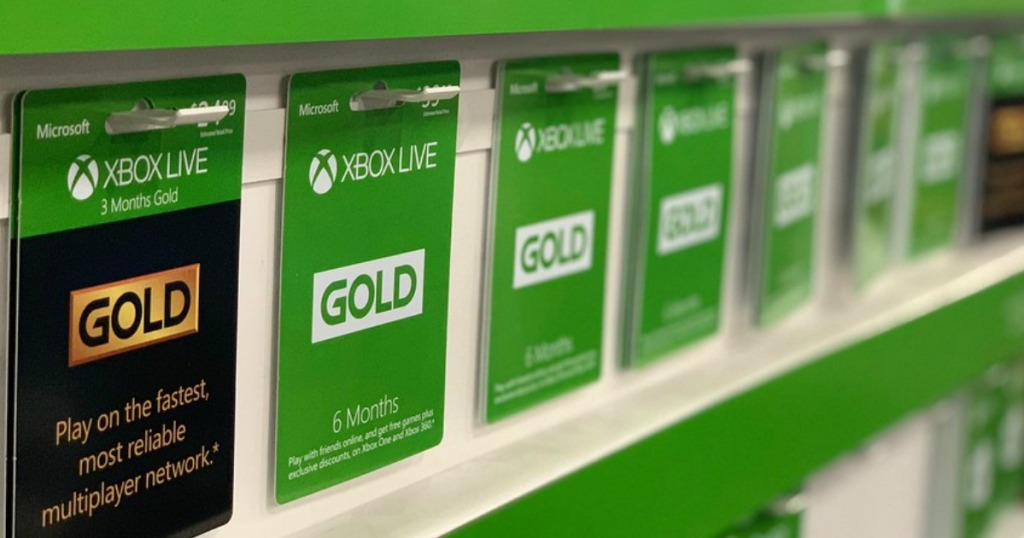 TWO Xbox Live Gold 3-Month Subscriptions Only $20 99 (Regularly $50)